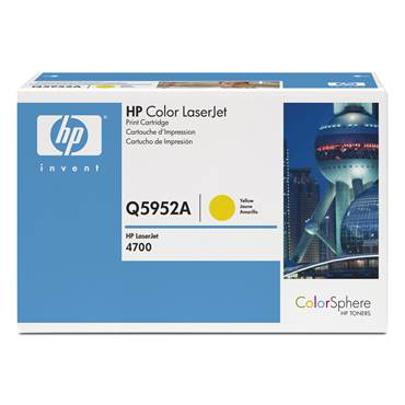 Toner HP Q5952A 10k gul