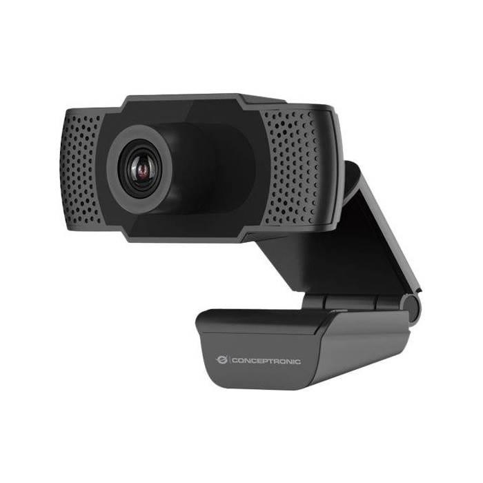 Webbkamera 1080P HD Mikrofon Conceptronic