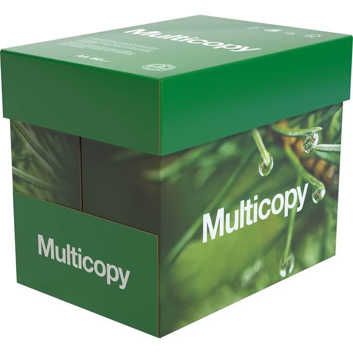 Papper Multicopy A4 80g 2500/k