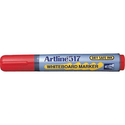 WB-penna Artline 517 rund röd