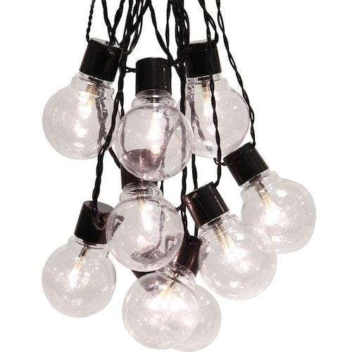Ljusslinga Partaj 16 LED Svart Star Trading