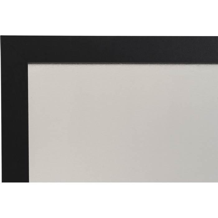 Whiteboardtavla 60 x 45 cm silver/svart