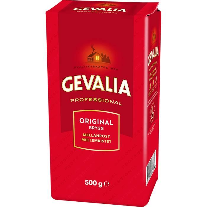 Kaffe Gevalia mell vac 500g 12pack