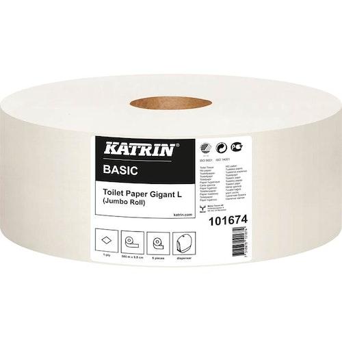 Toalettpapper Basic Gigant L Katrin