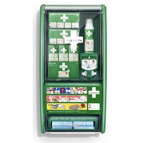 Brännskade station First Aid