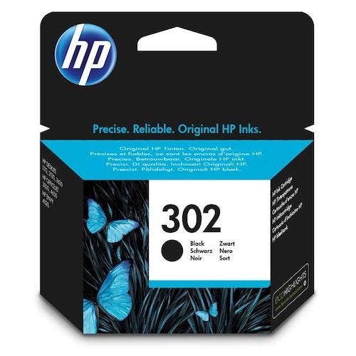 HP 302 (Svart)  (F6U66AE)