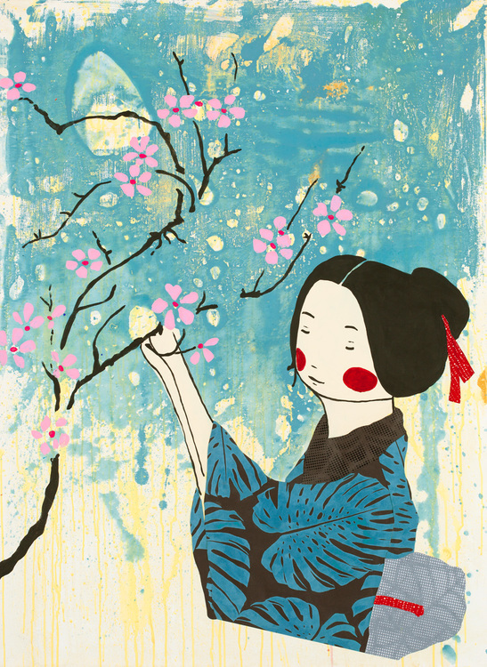 Cherry Blossom girl No1