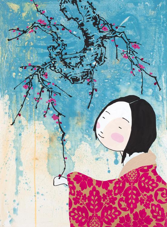 Cherry Blossom girl No2