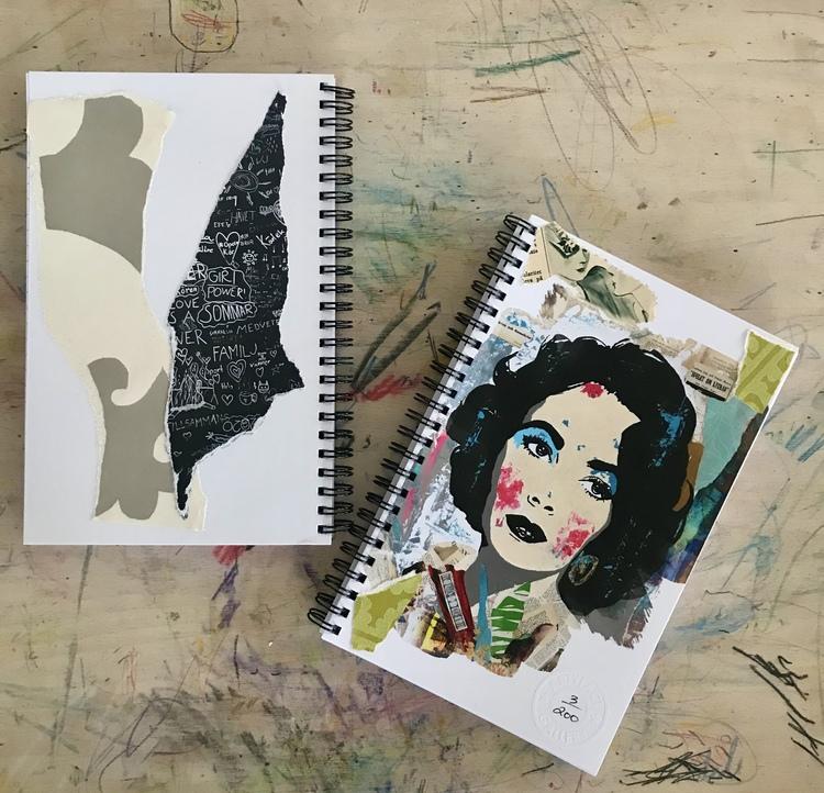 Limited edition Notebook 'Liz'