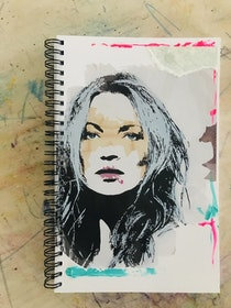 Limited edition Notebook 'Miss Kate'