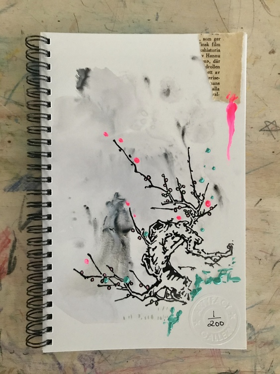 Limited edition Notebook 'Cherry Blossom Tree'
