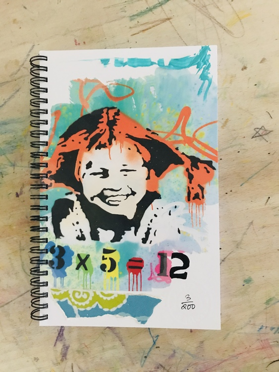 Customized Notebook 'Count me in'