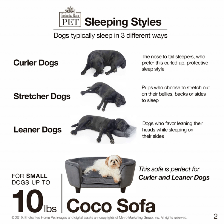 Hundsäng Coco Rosa