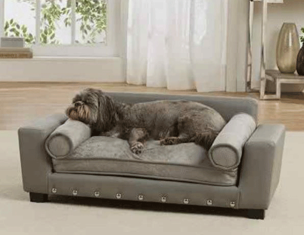 Lyxig Hundsoffa på ben - Scout Grey