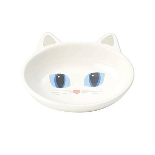 Katt matskål i keramik - Frisky Kitty