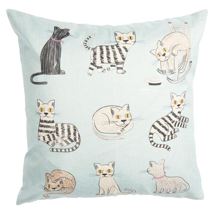 Kuddfodral katter