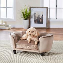 Hundsäng på ben - Coco Soffa Beige