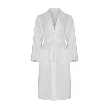 Egyptian cotton bathrobe.