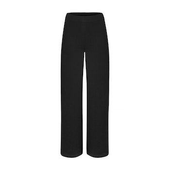 BLANKA. Trousers in a straight style. Black.
