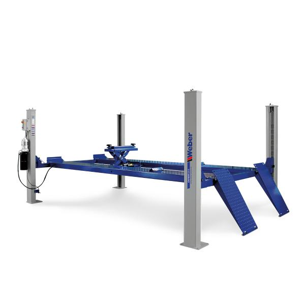 Fyrpelarlyft 6,4 ton Weber Expert-serien ( Släta körbanor )