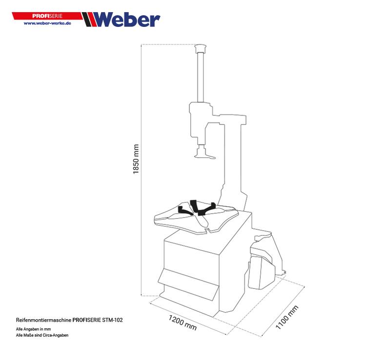Däckomläggare Weber Classic Series 1022
