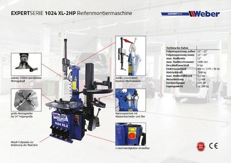 Däckomläggare Weber Expert Series 1024-XL-2HP