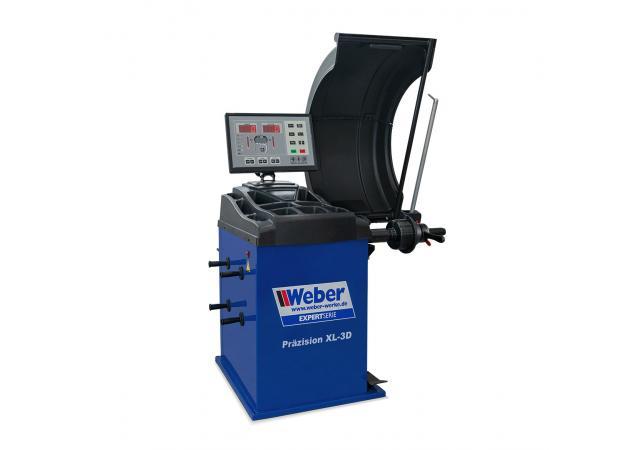 Hjulbalanserare Weber Expert-serie precision-XL 3D