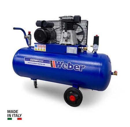 Verkstadskompressor 230 V / 10 bar / 100 l tank