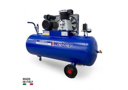 Verkstadskompressor 230 V / 10 bar / 150 l tank