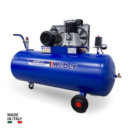 Verkstadskompressor 400 V / 10 bar / 200 l tank