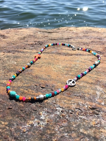 Summer Peace Necklace