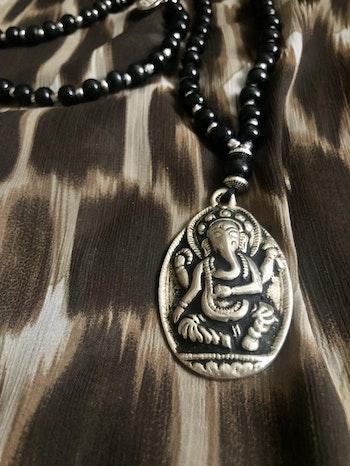Ganesha Silver mala