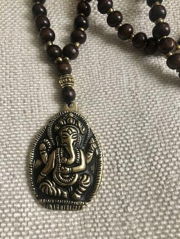 Ganesha Golden mala