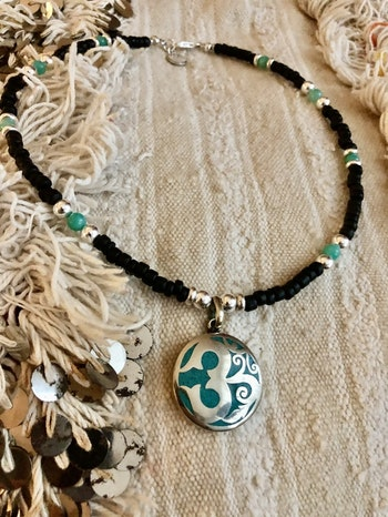 Power of aum necklace
