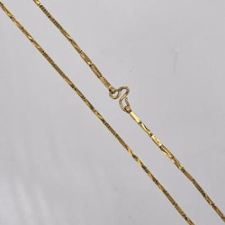 Thai gold necklace, 1 Baht 23K 15,2 G - 49 cm