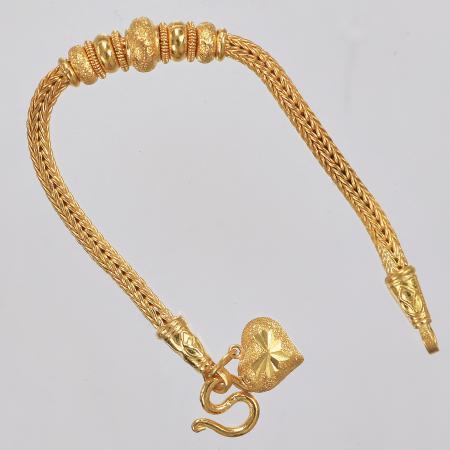 Thai gold bracelet, 2 Baht 30,4 G 23K - 16 cm