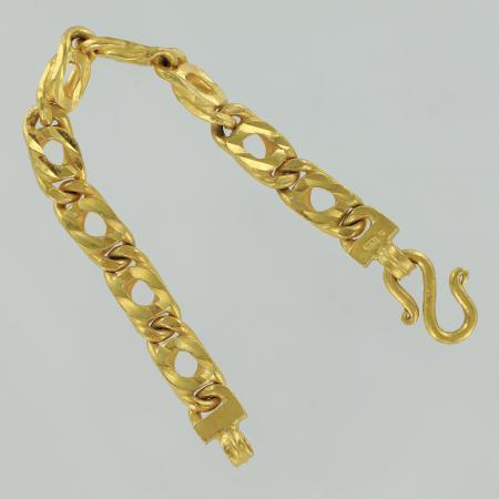 Thailand gold bracelet, 5 Baht, 75,9 G - 23 K