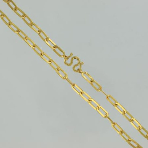 Thai gold necklace, 3 Baht, 45,6 G - 23 K