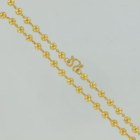 Gold thai necklace, 2 Baht, 23 K - 30,4 G