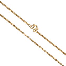 Thai gold necklace, 1 Baht, 15,2 G, 51 cm long