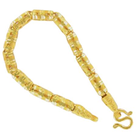 Thai gold bracelet, 1 Baht, 15,2 G, 15 cm