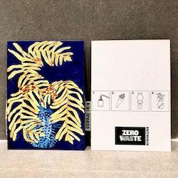 zero waste hälsning vykort small