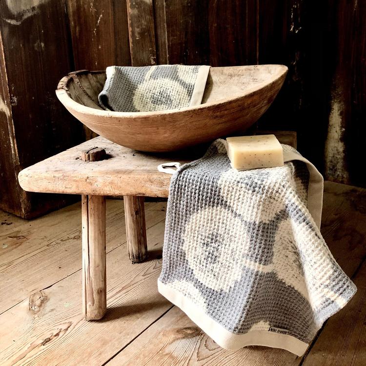 handduk och tvål MASKROS