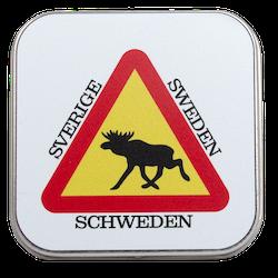 Varning för Älg Sweden