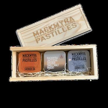 Mackmyra Whiskypastiller presentförpackning