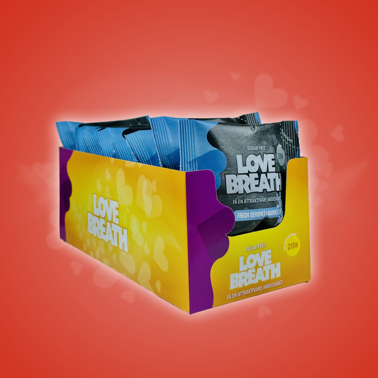 Love Breath Fresh Seasalt Liquorice 15-pack