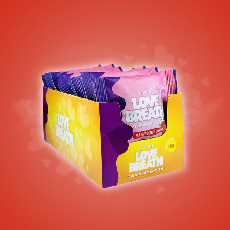 Love Breath Het Strawberry Colada 15-pack